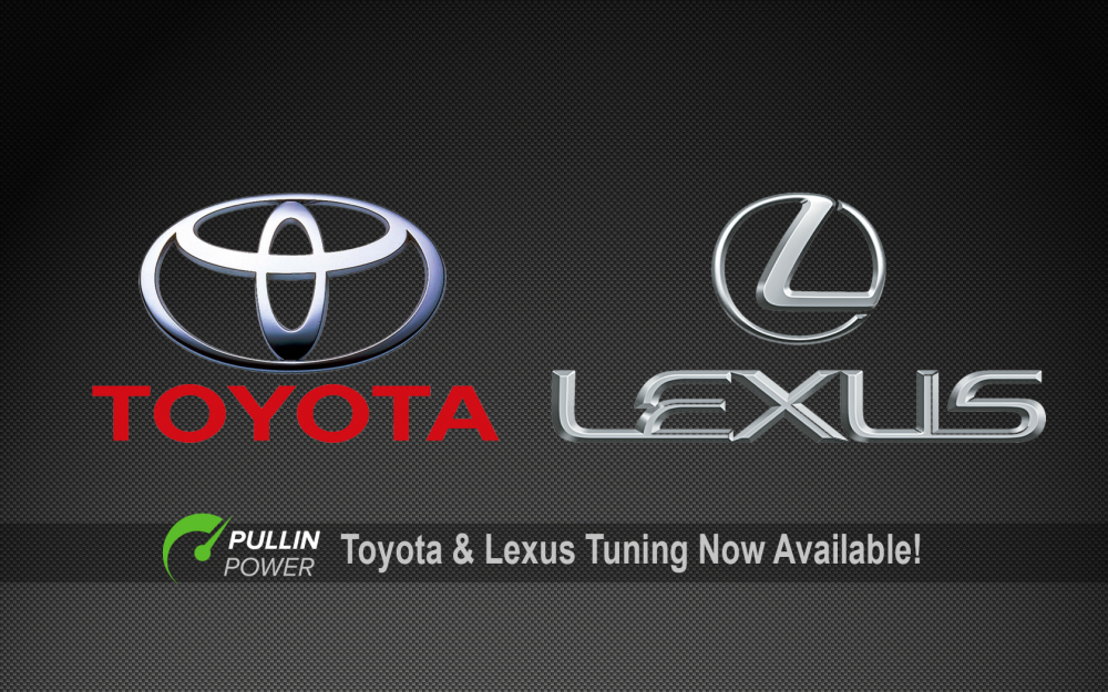 Toyota / Lexus Tuning Now Available